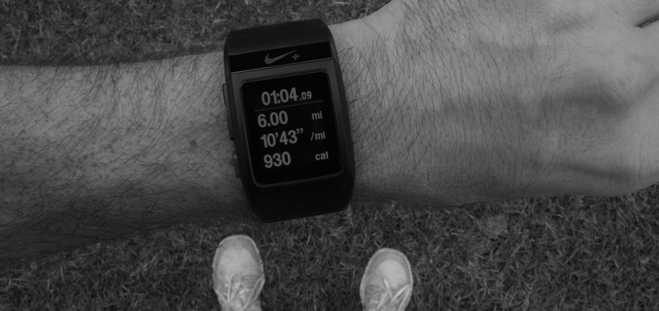 An image of the watch I used to capture my running data.