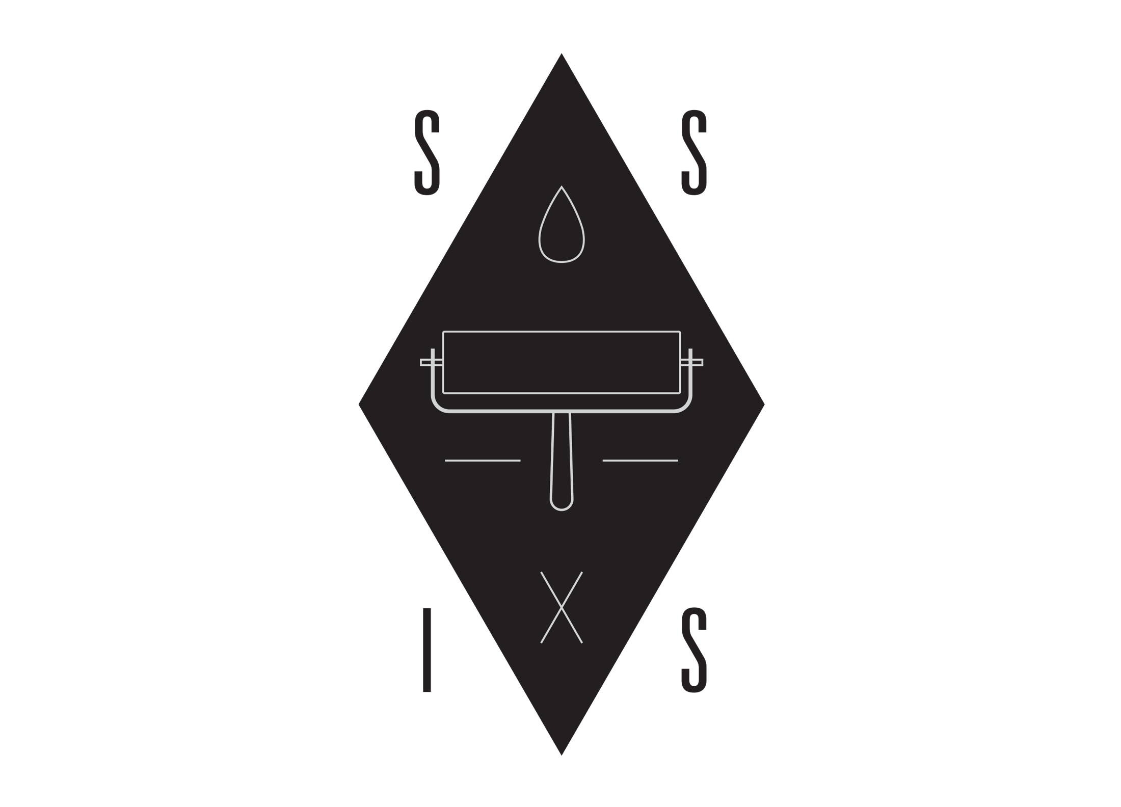 The Secret Society of Ink Slingers logo.