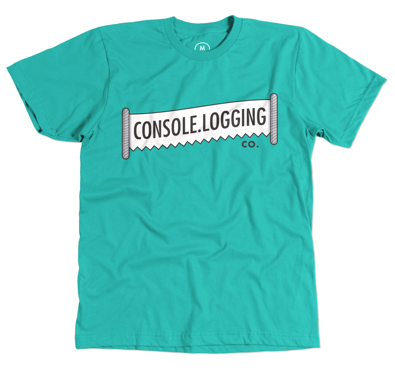 A Console.Logging Co. t-shirt is available through Cotton Bureau.